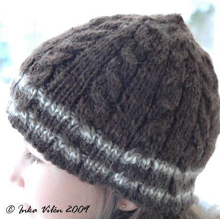brown cable cap